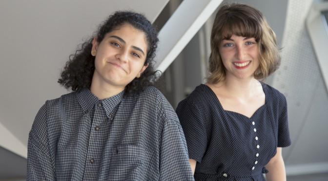 Jess and Devora - Photo Credit Sage Gu CE'19