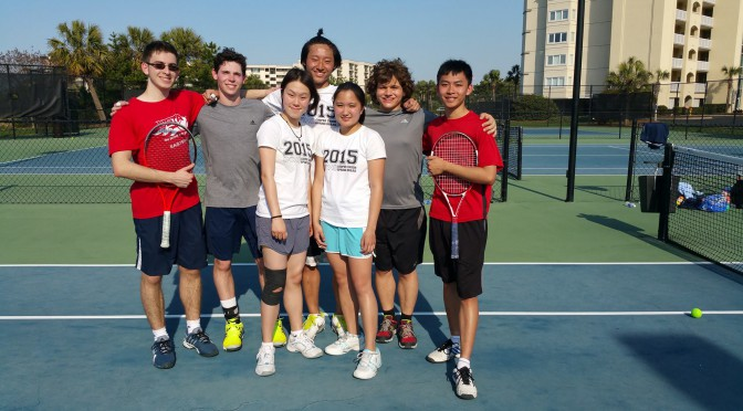 Sports Update Tennis - Photo provided by Kevin Shi (CE' 16)