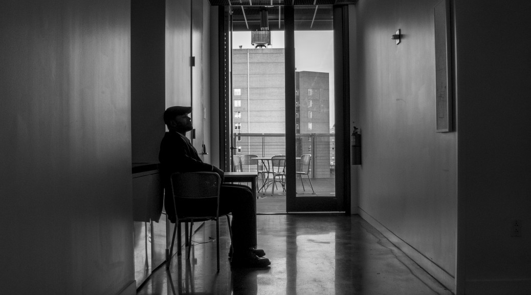 Security Guard Darnell, Alumni Terrace - Photo by Winter Leng ChE '18