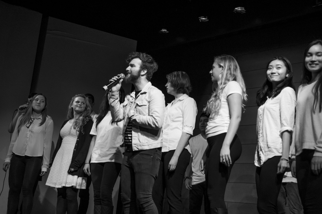 Syrian Refugee Concert 1 Photo by Winter Leng ChE'18 BW