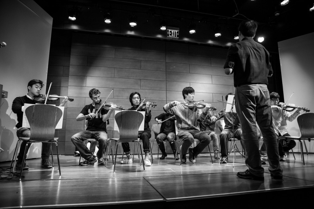 Syrian Refugee Concert 2 Photo by Howie Chen EE '16 BW